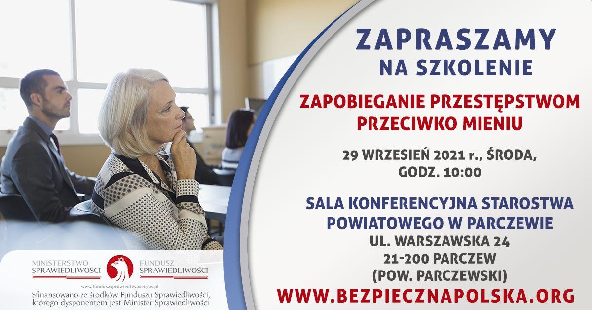 Plakat szkolenia