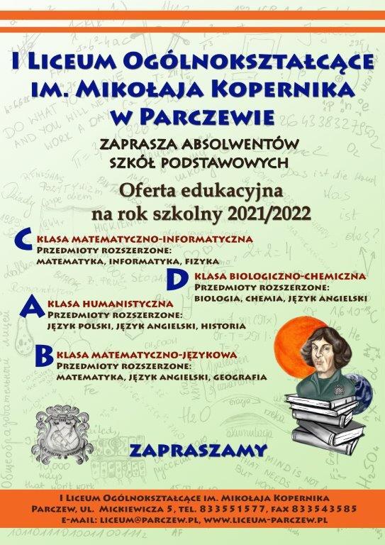 Plakat LO Parczew